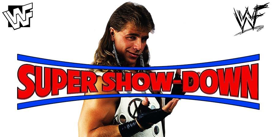 Shawn Michaels WWE Super Show-Down