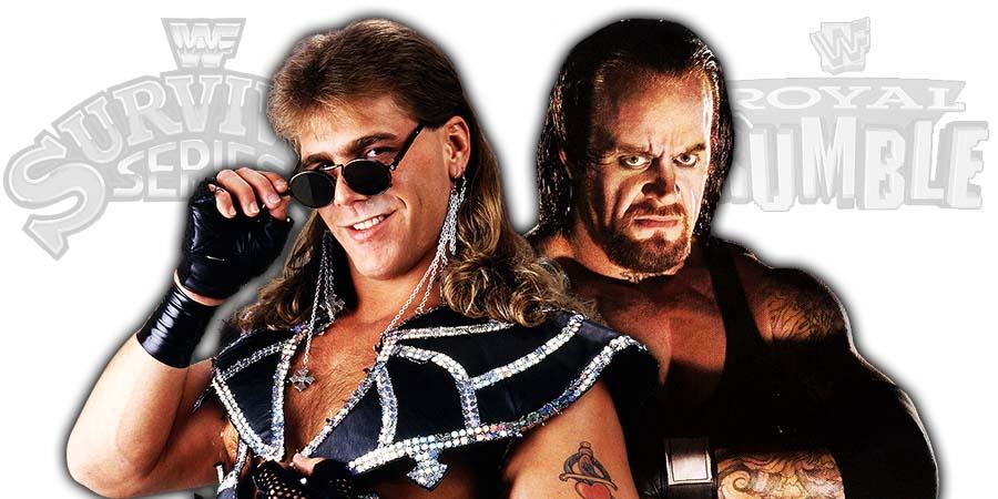 Shawn Michaels vs. The Undertaker Survivor Series 2018 Royal Rumble 2019