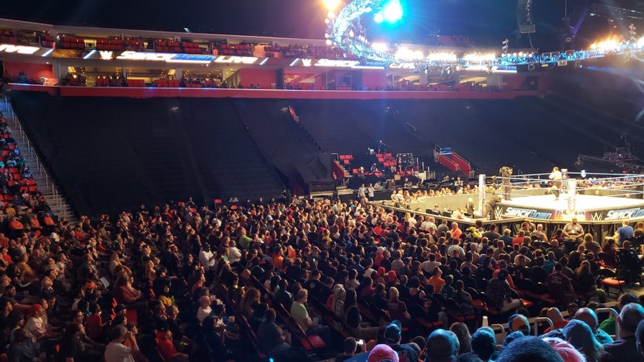 SmackDown Live Poor Attendance