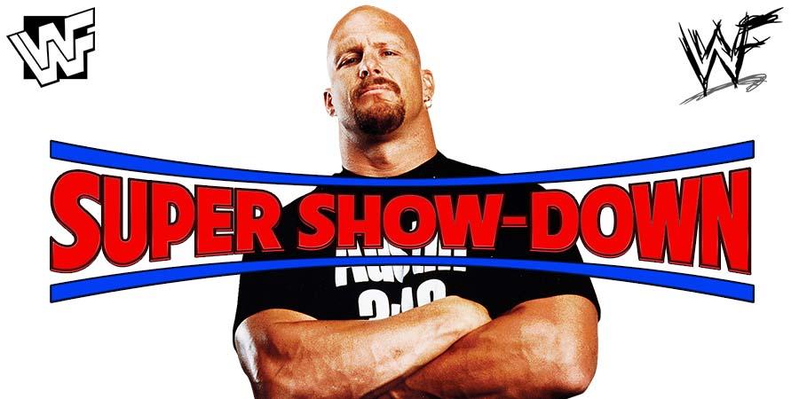 Stone Cold Steve Austin WWE Super Show-Down