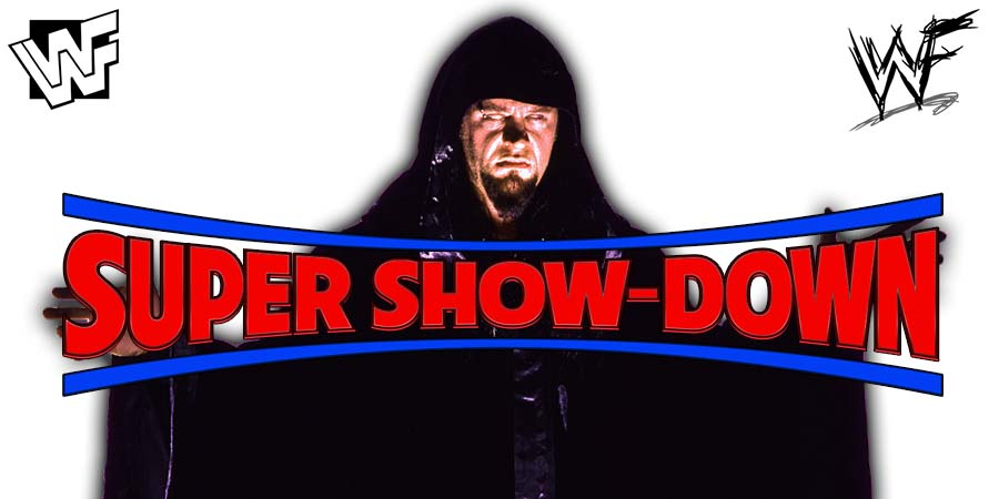 The Undertaker Favored To Defeat Triple H According To Betting Odds At WWE Super Show-Down