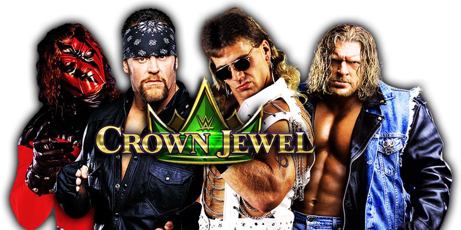 The Undertaker & Kane (Brothers of Destruction) vs. Triple H & Shawn Michaels (D-Generation X) WWE Crown Jewel PPV Saudi Arabia 2018