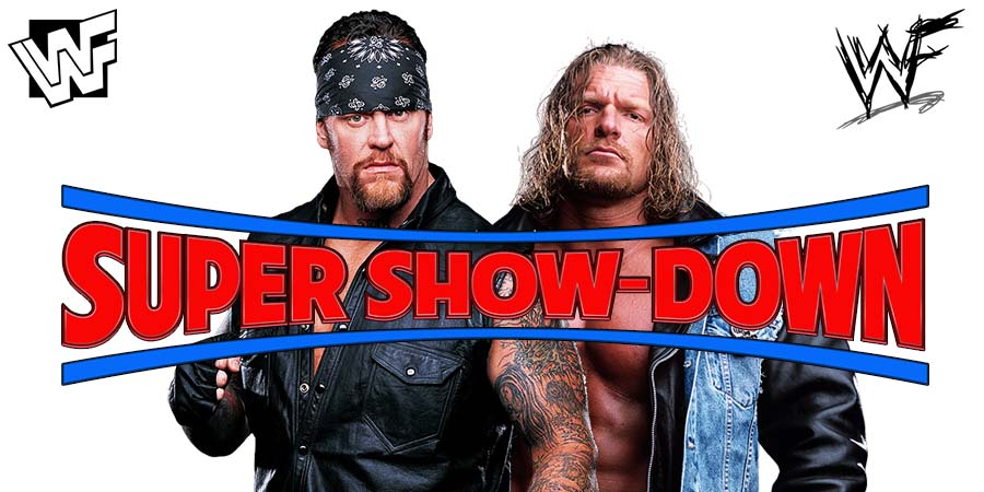 The Undertaker vs. Triple H - WWE Super Show-Down