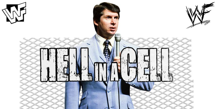 Vince McMahon Hell In A Cell 2018