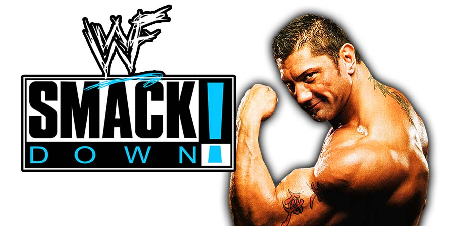 Batista SmackDown 1000