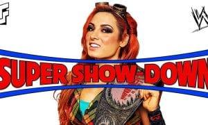 Becky Lynch WWE Super Show-Down