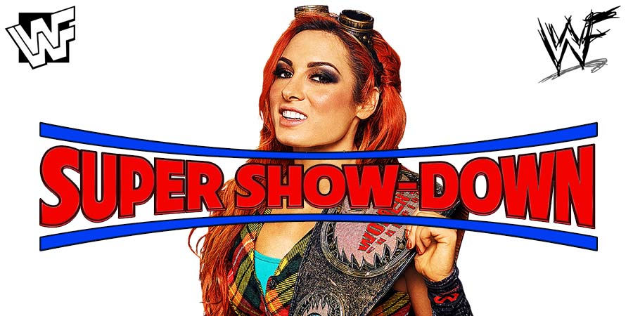 Becky Lynch WWE Super Show-Down