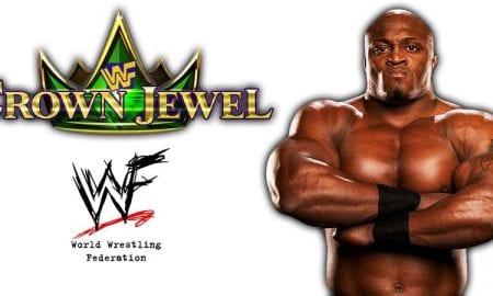 Bobby Lashley WWE Crown Jewel PPV Saudi Arabia 2018