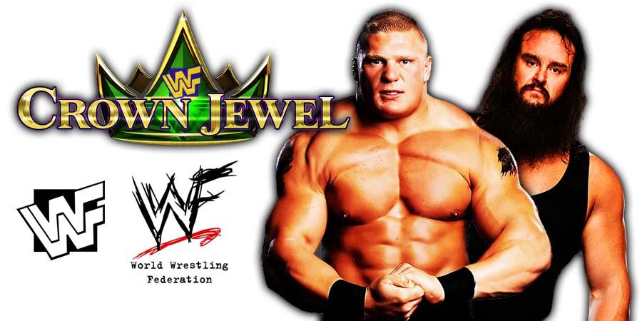 Brock Lesnar vs. Braun Strowman - WWE Crown Jewel