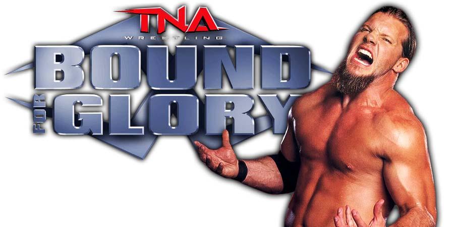 Chris Jericho TNA Impact Wrestling Bound For Glory 2018 PPV