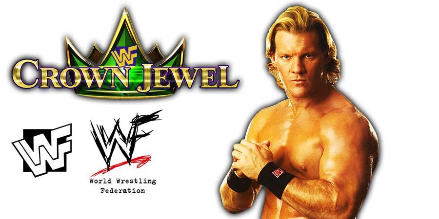 Chris Jericho WWE Crown Jewel PPV Saudi Arabia 2018