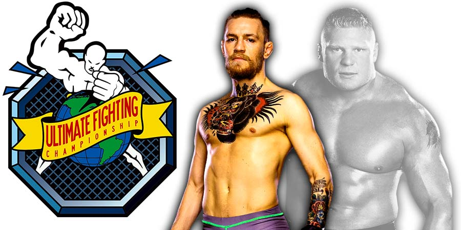Conor McGregor Brock Lesnar UFC