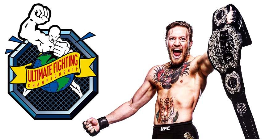 Conor McGregor UFC Champion