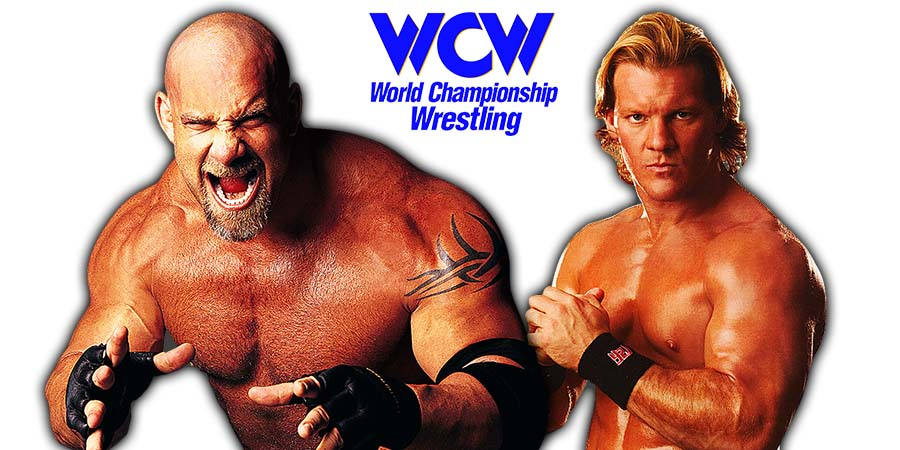 Goldberg Chris Jericho WCW Fight