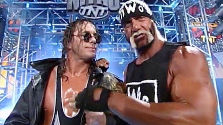 Resultado de imagem para Bret Hart Hulk Hogan