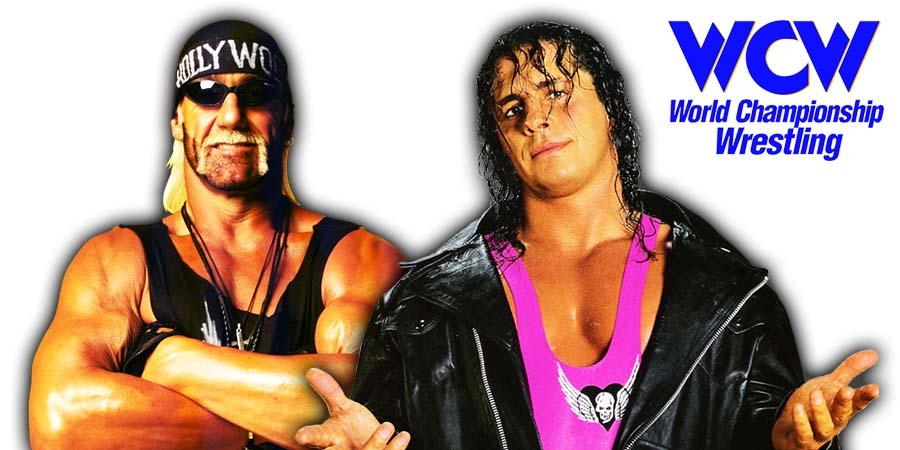 Hulk Hogan Bret Hart WCW