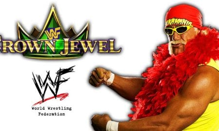 Hulk Hogan WWE Crown Jewel PPV Saudi Arabia 2018