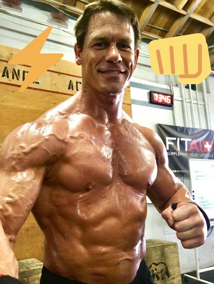 John Cena Loses 20 Lbs Weight John Cena Weighs 236 Lbs 2018
