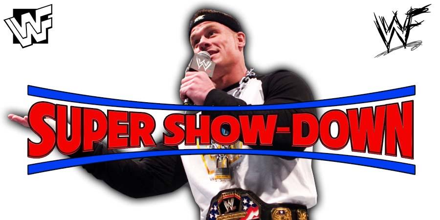 John Cena WWE Super Show-Down