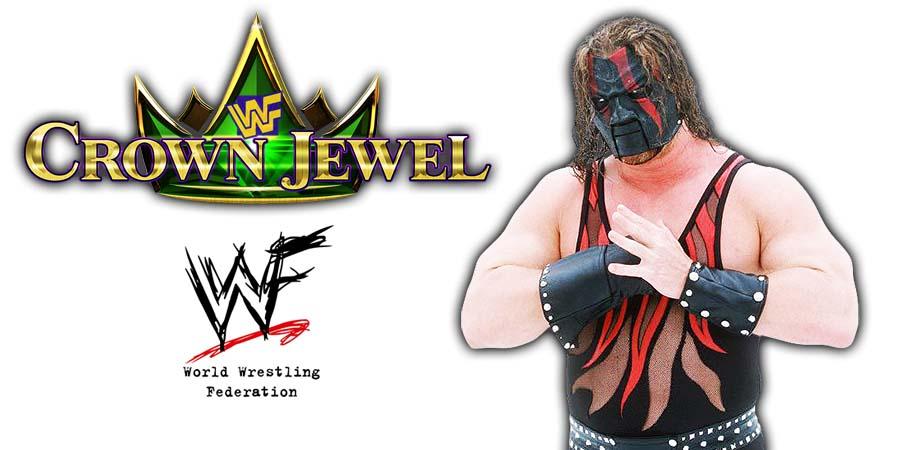 Kane WWE Crown Jewel PPV Saudi Arabia 2018