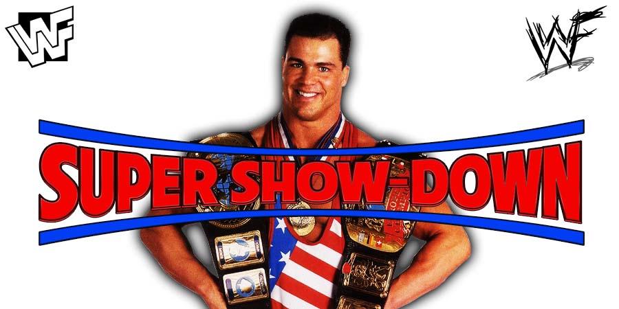 Kurt Angle WWE Super Show-Down
