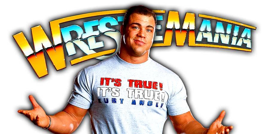 Kurt Angle WrestleMania