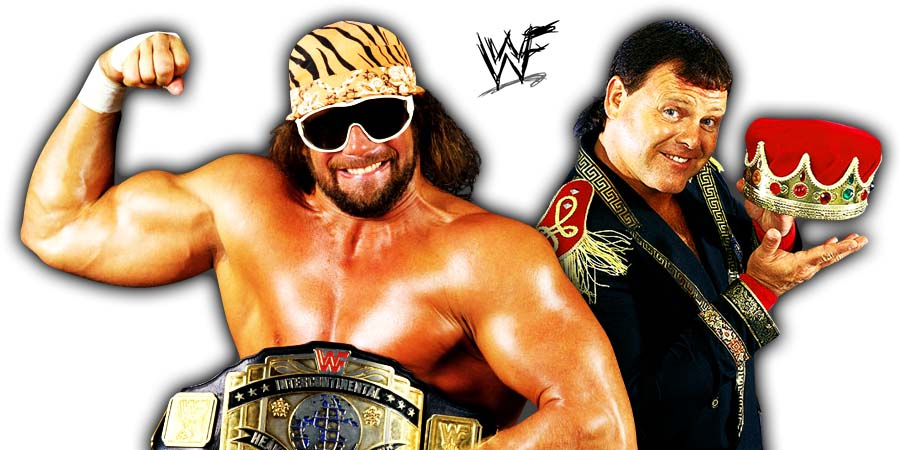 Macho Man Randy Savage Jerry The King Lawler