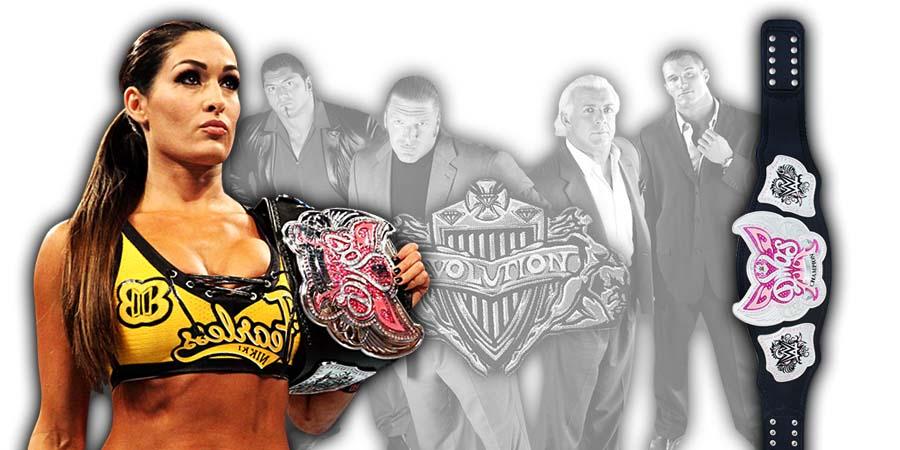 Nikki Bella WWE Evolution 2018 PPV