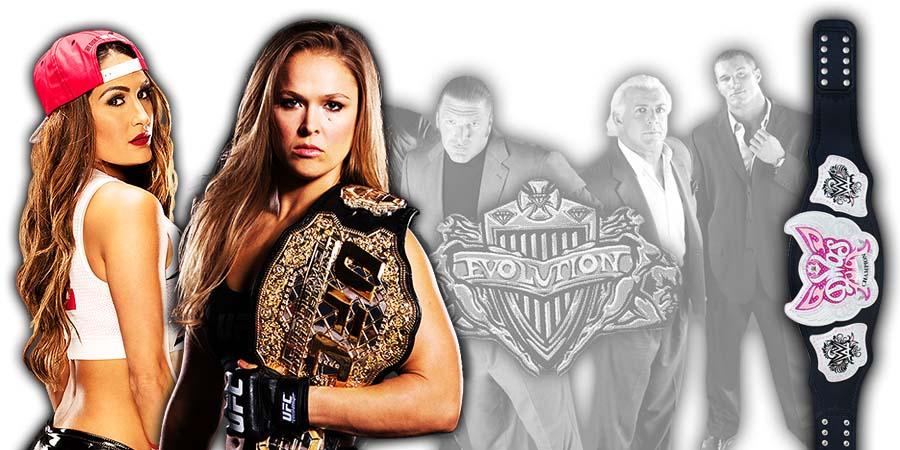Nikki Bella vs. Ronda Rousey - WWE Evolution 2018