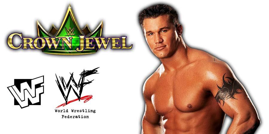 Randy Orton WWE Crown Jewel PPV Saudi Arabia 2018
