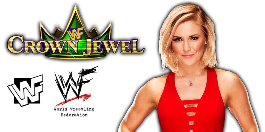 Renee Young WWE Crown Jewel PPV Saudi Arabia 2018