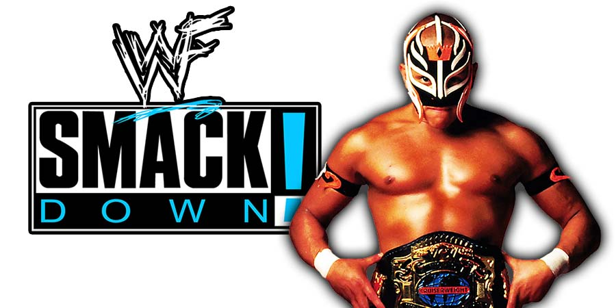 Rey Mysterio Returning At SmackDown 1000