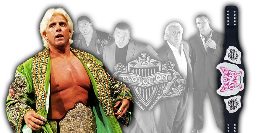 Ric Flair WWE Evolution 2018 PPV