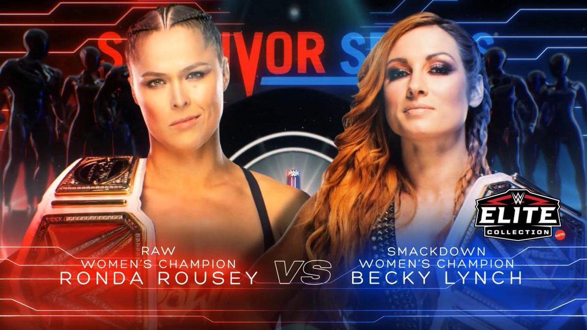 Ronda Rousey vs. Becky Lynch - Survivor Series 2018