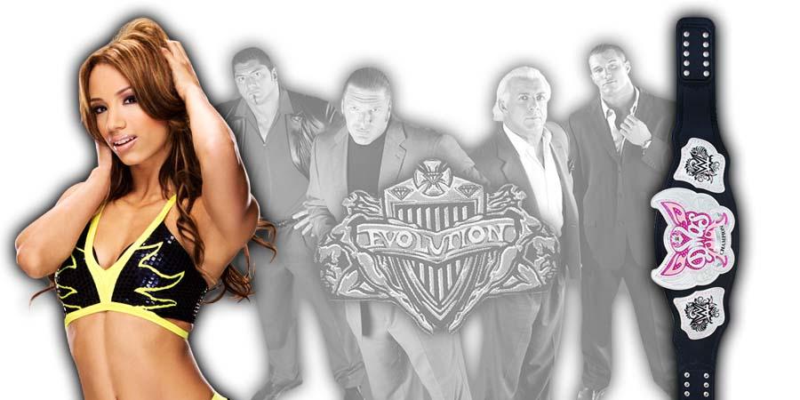 Sasha Banks WWE Evolution PPV Botch