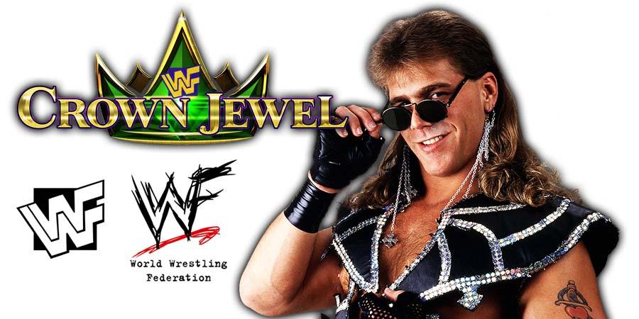 Shawn Michaels HBK WWE Crown Jewel PPV Saudi Arabia 2018