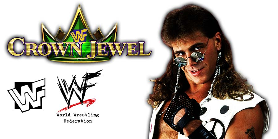 Shawn Michaels Returns WWE Crown Jewel PPV Saudi Arabia 2018