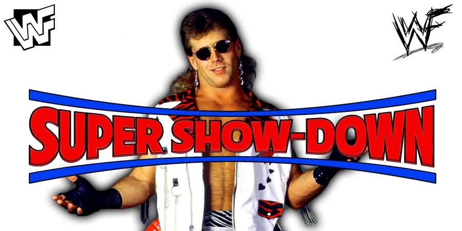 Shawn Michaels WWE Super Show-Down 2018