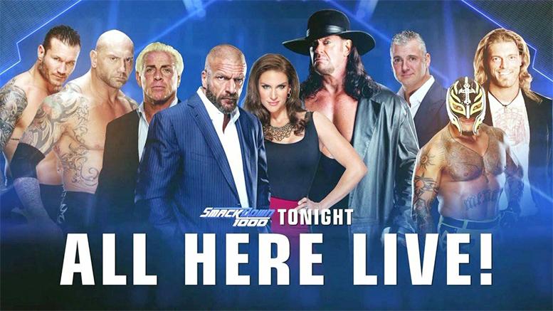 SmackDown 1000 Legends