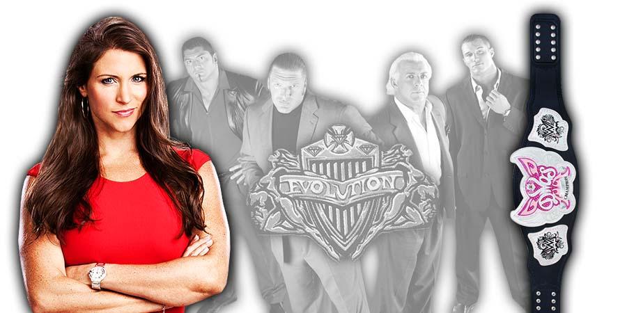 Stephanie McMahon WWE Evolution PPV 2018