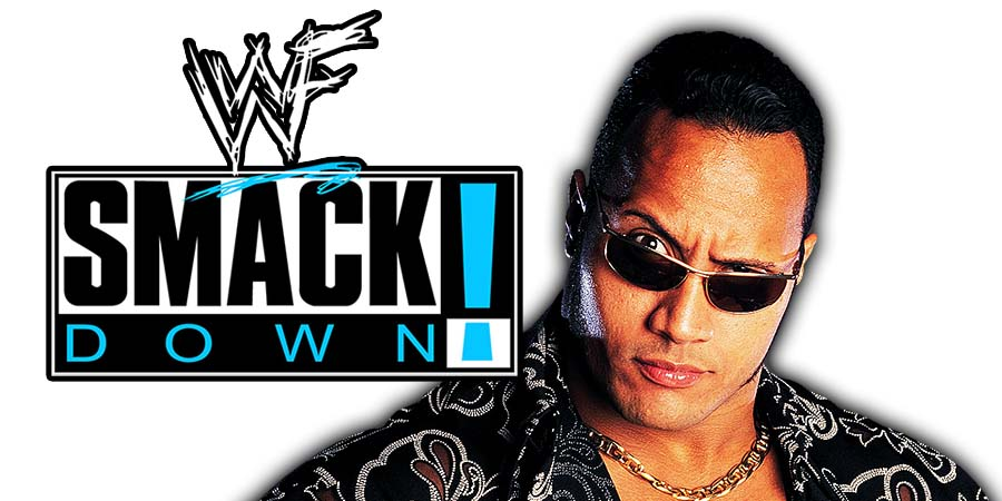 The Rock SmackDown Article Pic 2