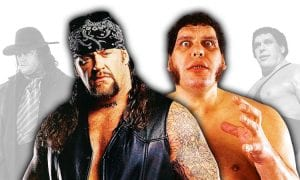 The Undertaker Andre The Giant WWF