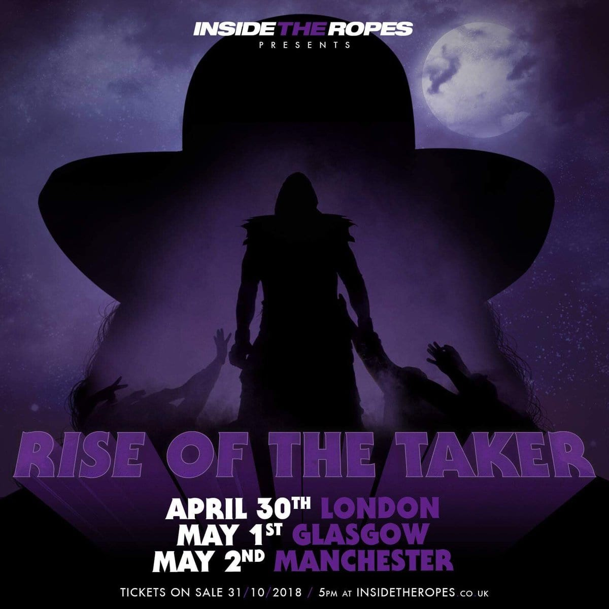 The Undertaker Inside The Ropes Rise Of The Taker Tour