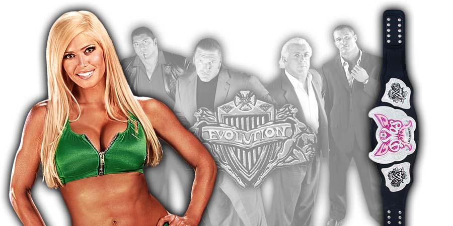 Torrie Wilson WWE Evolution 2018 PPV