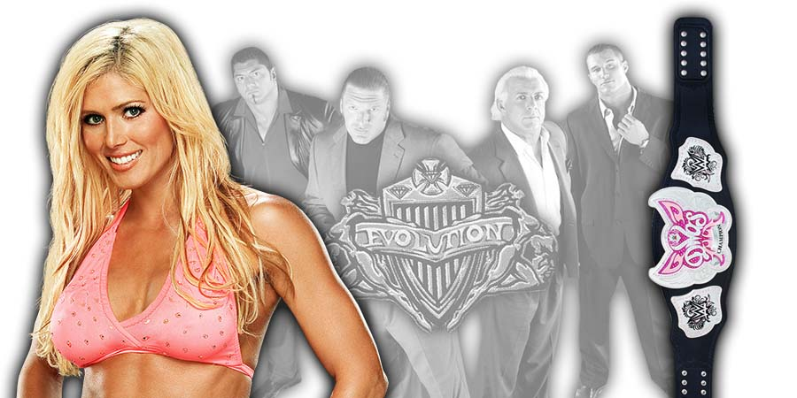 Torrie Wilson WWE Evolution PPV Return