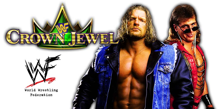 Triple H Shawn Michaels DX D-Generation X WWE Crown Jewel PPV Saudi Arabia 2018