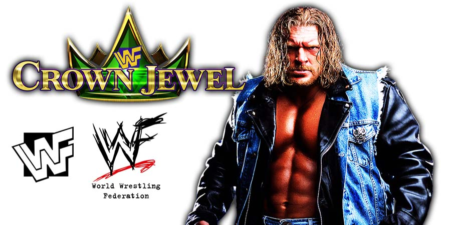 Triple H WWE Crown Jewel PPV Saudi Arabia 2018