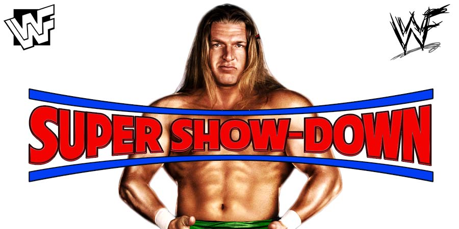 Triple H WWE Super Show-Down