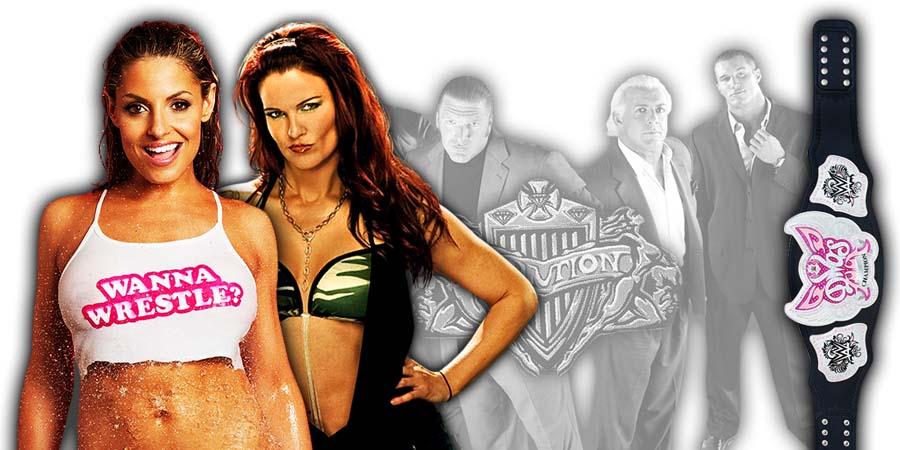 Trish Stratus Lita WWE Evolution 2018 PPV