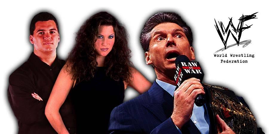 Vince McMahon Shane McMahon Stephanie McMahon